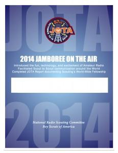 JOTA 2014 Certificate Blank