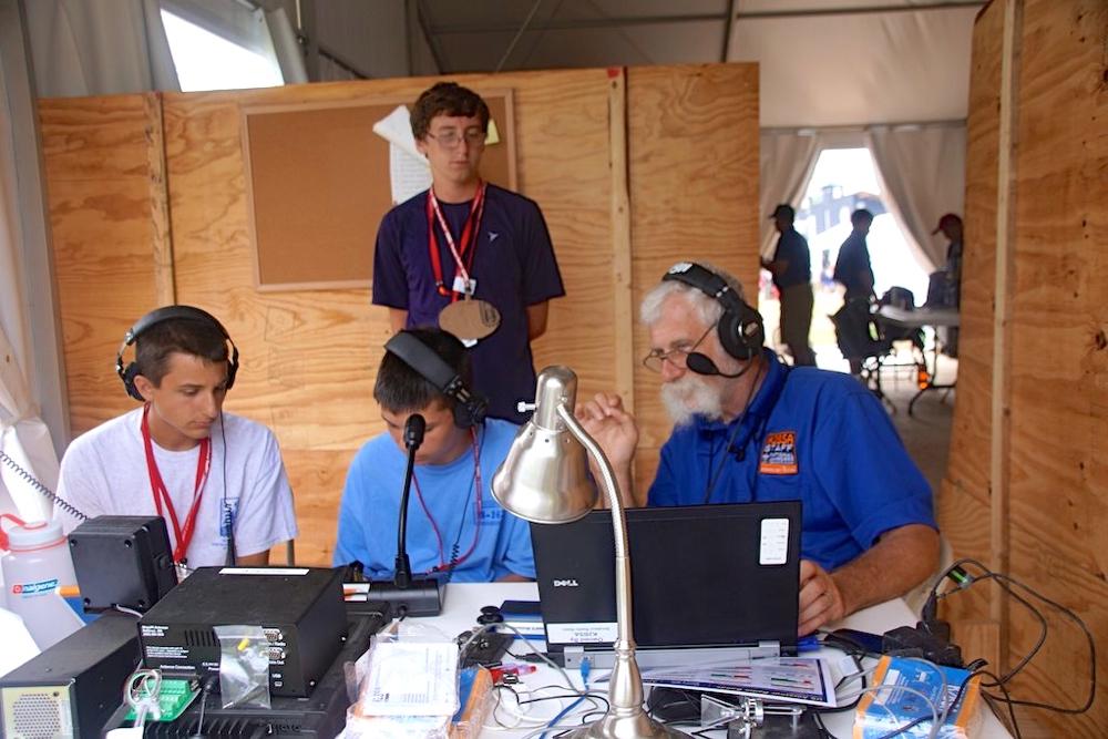 N7QR at Jamboree 2013