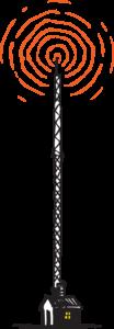 Color-Version-Radio-Tower