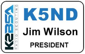 K2BSA Name Tag