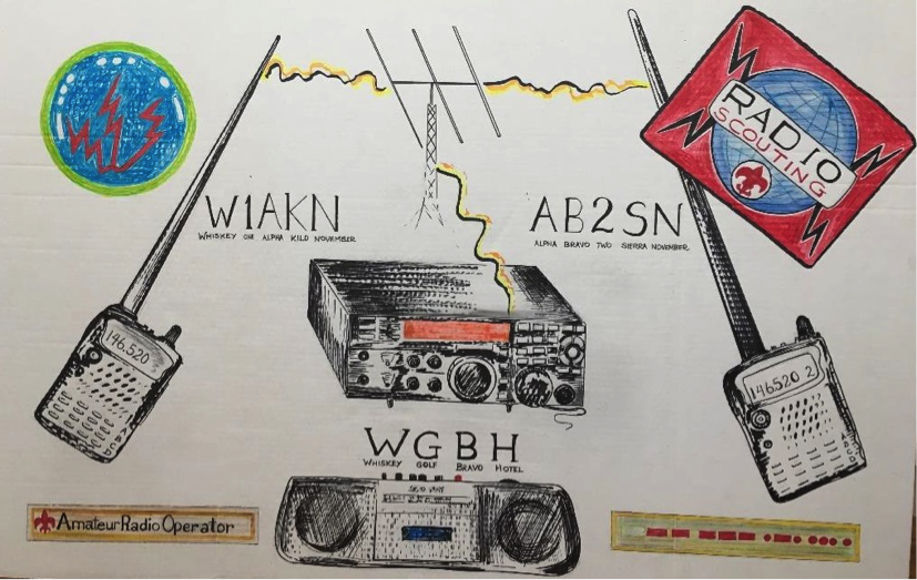 Troop Program Feature: Radio :: K2BSA Amateur Radio Association